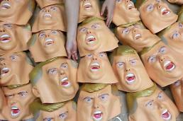 .特朗普面具供不应求 掀起购买热潮.