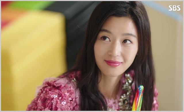 韩剧女主角的美唇秘籍之二——《蓝色海洋的传说》全智贤