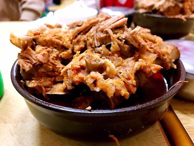 """胡同里的美味——首尔""""奶奶家""""排骨醒酒汤"""