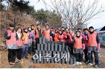 경정선수, 소외계층을 위한 연탄 나눔 봉사활동