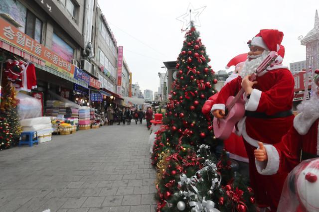访韩外国游客减少 南大门市场冷冷清清