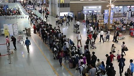 韩11月出国旅行人次同比增加12.3% 旅游业收支23个月连续逆差