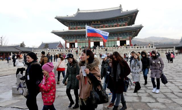 今年访韩外国游客有望突破1700万人次