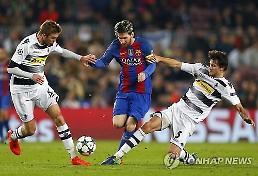 바르셀로나·아스날, 조1위로 챔피언스리그 16강행