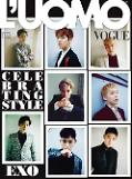 .Boy group EXO featured in Italian fashion magazine LUomo Vogue.