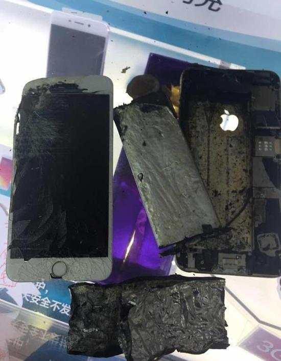 苹果iPhone在华陷爆炸门