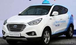 .Hyundais hydrogen electric taxis selected for pilot project.