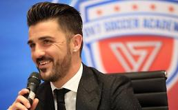 David Villa launches football academy in S. Korea: Yonhap