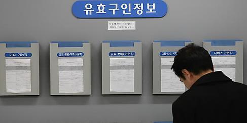 找工作难失业率高 韩国1人青年家庭中个体户主占比大增