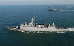 S. Korea goes ahead with construction of six 3,000-ton frigates