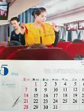 N. Korea calendar for 2017 features flight attendants: Yonhap