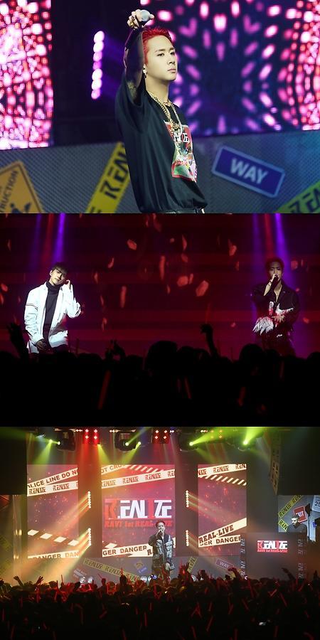 VIXX成员RAVI首场个人演唱会大获成功