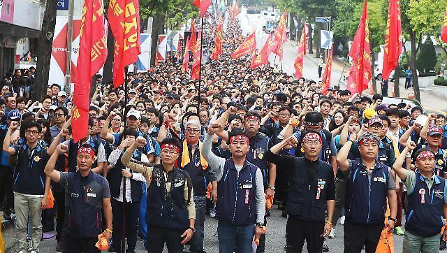 韩国2016年劳动日损失天数超200万