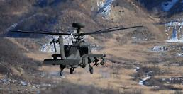 .US troops to deploy 24 Apache helicopters in S. Korea.
