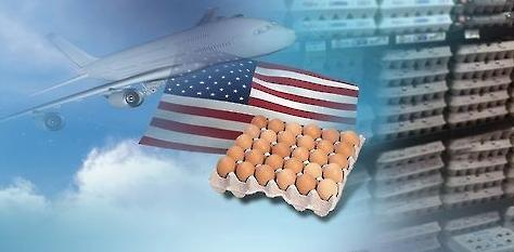 据悉,通过货运飞机进口鸡蛋,每架飞机一次可装载50吨.