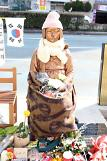 .Japans angry outcry hard to stop construction of comfort woman statutes.