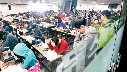 韩国补习费高昂令家长压力山大 向银行贷款填补家用
