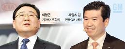 [2017 디트로이트 모터쇼] 이형근vs제임스 김, 모닝·크루즈 출시 앞두고 신경전