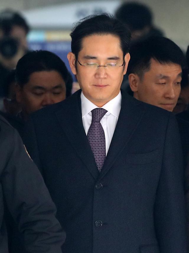 李在鎔サムスン電子副会長、ソウル拘置所で待機中・・・公平性考慮した裁判所の判断