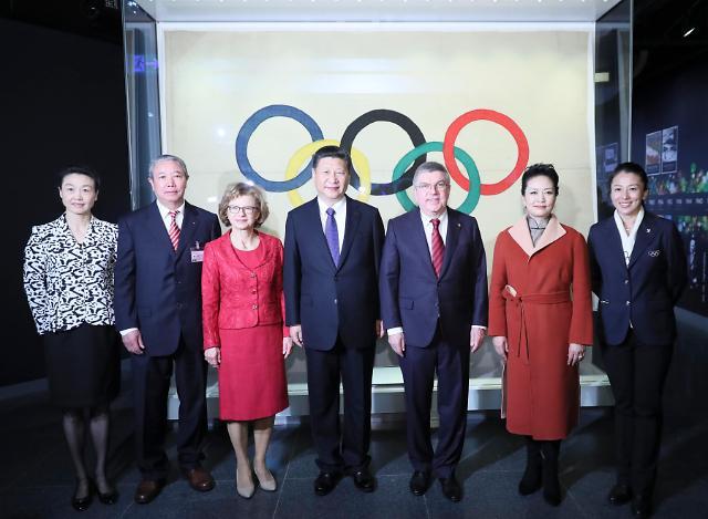 [영상중국] IOC 방문한 시진핑 '베이징 동계올림픽 성공적 개최에 총력'