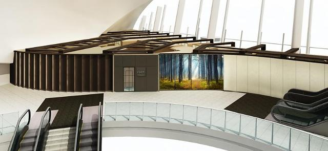韩国首家胶囊旅馆亮相仁川机场 将便民进行到底