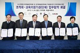 성공적 동계올림픽 개최 위한 자원봉사자 교육 위해 대학·단체가 나섰다