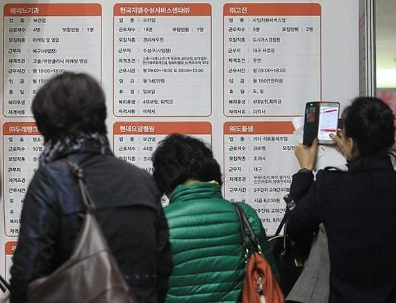 韩实际失业者人数突破450万人 刷新历史最高值