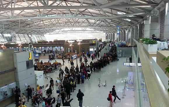 去年春节期间仁川机场遗失物品日均44件  五年间翻一番