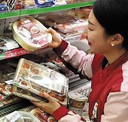 """.韩国""""独饭族时代""""来临 快餐市场4年增幅逾五成."""
