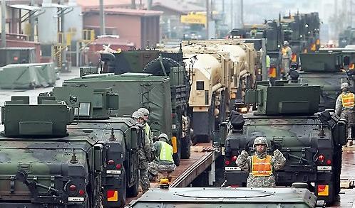 2016年韩国防费用GDP占比2.4%高于英法德 为最大美制武器购买国