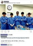 Certification selfie posted by doctors in cadaver dissection causes online fury