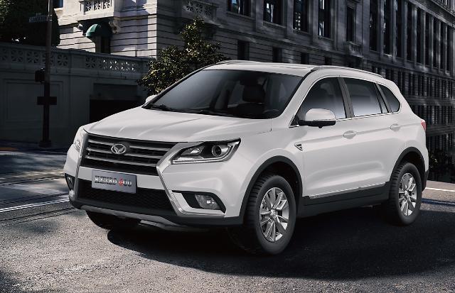"""北汽银翔SUV""""KENBO 600""""在韩获好评 首批汽车售罄追加200辆订单"""