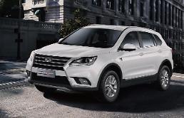 """.北汽银翔SUV""""KENBO 600""""在韩获好评 首批汽车售罄追加200辆订单."""