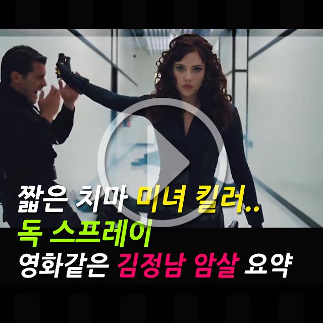 [아잼이슈]짧은 치마 미녀 킬러.. 독 스프레이 영화같은 김정남 암살 요약