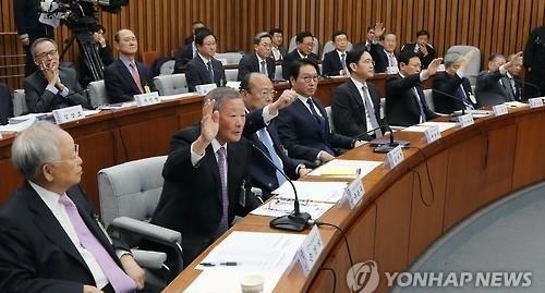 이재용 부회장 구속에 SK·롯데·CJ 등 '안절부절'