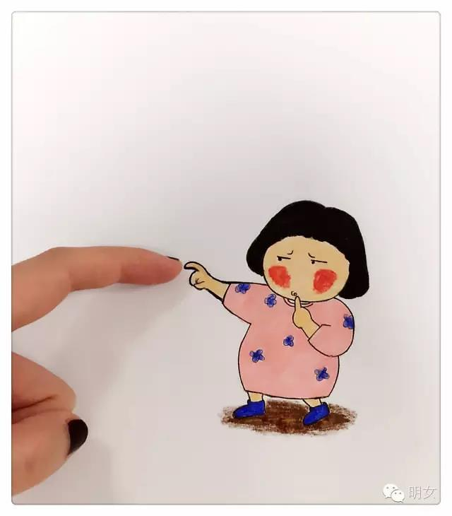 【明女小漫画】小创意