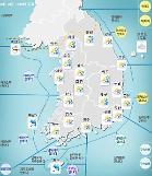 [내일날씨] 서쪽지방 중심으로 비 시작…서울·경기·강원영서·충북북부·경북내륙 눈 쌓인다