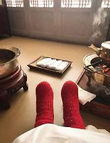 이하늬, '역적' 촬영 중 박진주 향한 고마운 마음 표현 너의 빨간 사랑으로… [★SNS#]