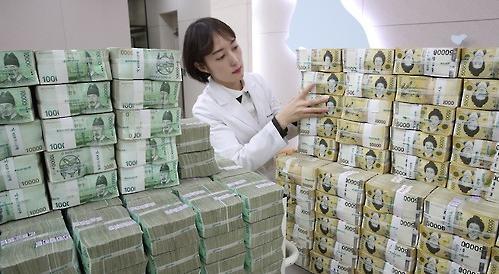 韩国货币发行余额首破100万亿韩元大关