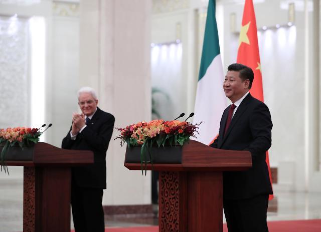 [영상중국] 베이징에서 만난 중국-이탈리아 정상