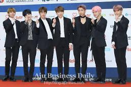 .BTS single Spring Day debuts on Billboards Bubbling Under Hot 100.