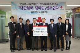 인천시설관리공단⇔ 인천사회복지공동모금회 「착한일터 캠페인」 업무협약 체결