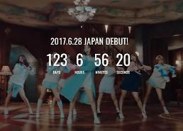 Girl group TWICE starts countdown on debut in Japan