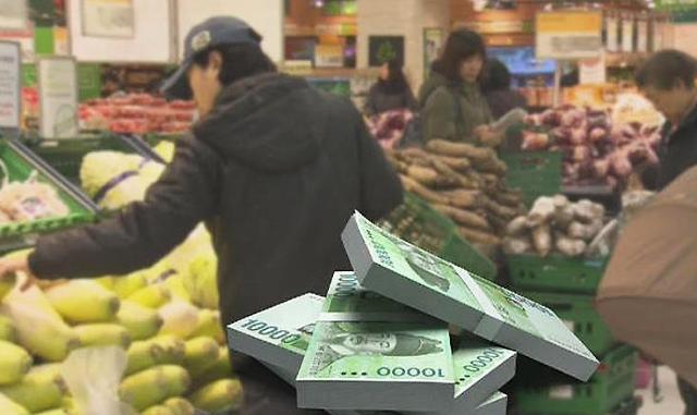 韩国2月消费心理指数小幅回暖