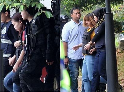 马警方以谋杀罪起诉金正男遇袭案2名女嫌犯 或面临死刑