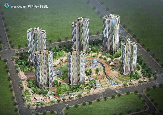 青罗Well County第19小区 理想的房产投资与韩国永住权兼得