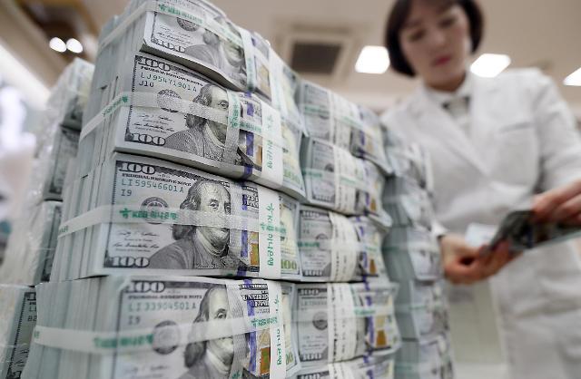 韩国2月外汇储备额为3739亿美元 较1月小幅减少