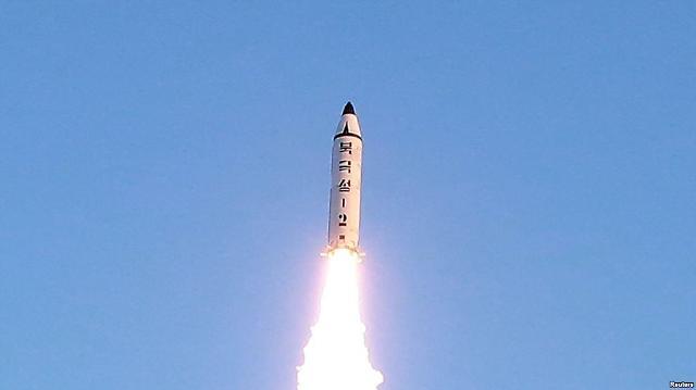 朝鲜再次试射导弹 韩美强烈谴责