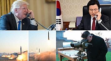 代总统黄教安与特朗普通电话 商讨对朝对策