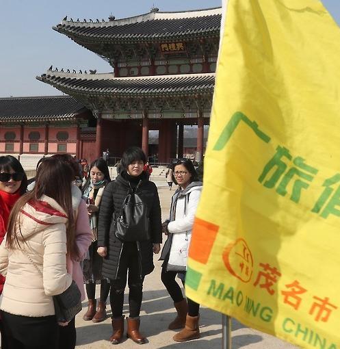 3月游览韩国古宫的中国游客骤减36.5%